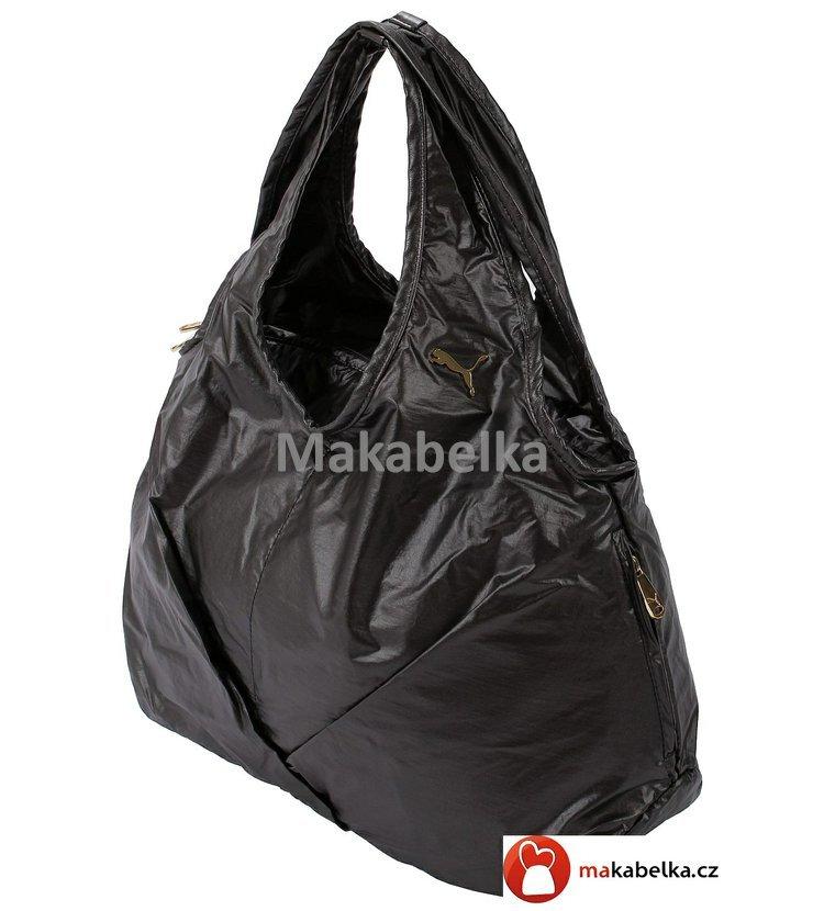Dámská sportovní kabelka značky Puma. Tmavě šedá lesklá barva 882da4a57d1