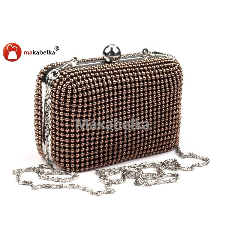 Společenská kabelka - psaníčko PEARL GOLD LEAF  d1d31a051f2
